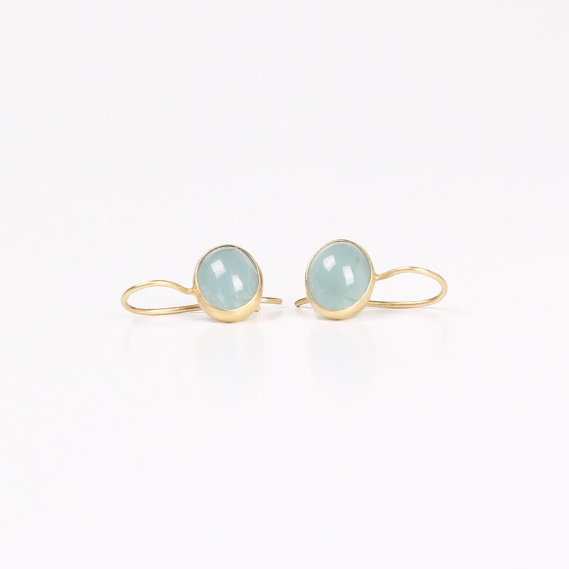 Aqua Marin earrings 8X10