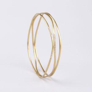 Three strings bracelet